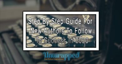 Step by Step Guide for New Authors to Follow to Success in 2020