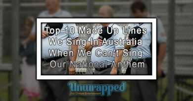 Top 10 Made Up Lines We Sing In Australia When We Can't Sing Our National Anthem