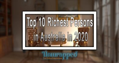 Top 10 Richest Persons in Australia in 2020