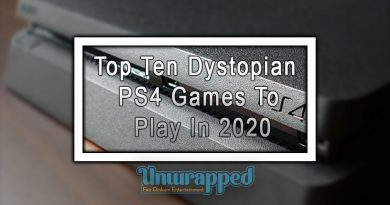 Top Ten Dystopian PS4 Games to Play in 2020