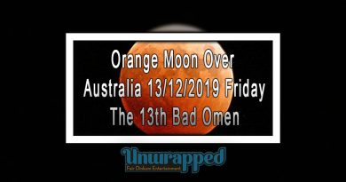 Orange Moon Over Australia 13/12/2019 Friday The 13th Bad Omen