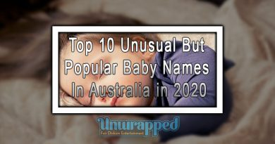 Top 10 Unusual But Popular Baby Names In Australia in 2020