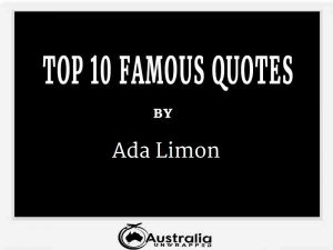 Ada Limon's Top 10 Popular and Famous Quotes