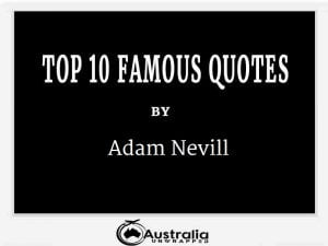 Adam Nevill's Top 10 Popular and Famous Quotes