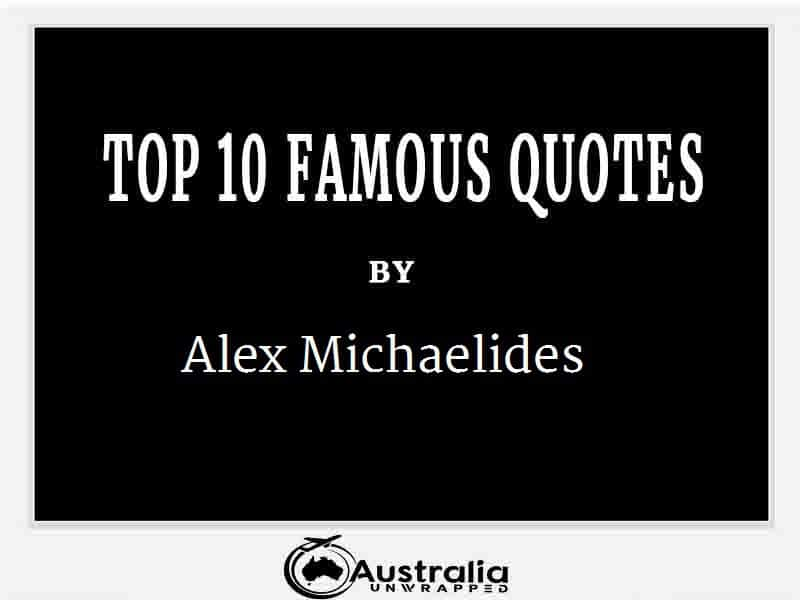 Alex Michaelides's Top 10 Popular and Famous Quotes