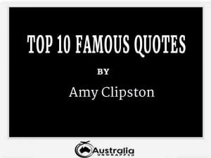 Amy Clipston's Top 10 Popular and Famous Quotes