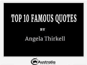 Angela Thirkell's Top 10 Popular and Famous Quotes