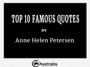 Anne Helen Petersen's Top 10 Popular and Famous Quotes