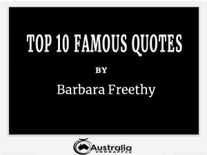 Barbara Freethy's Top 10 Popular and Famous Quotes
