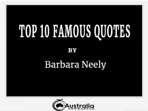 Barbara Neely's Top 10 Popular and Famous Quotes