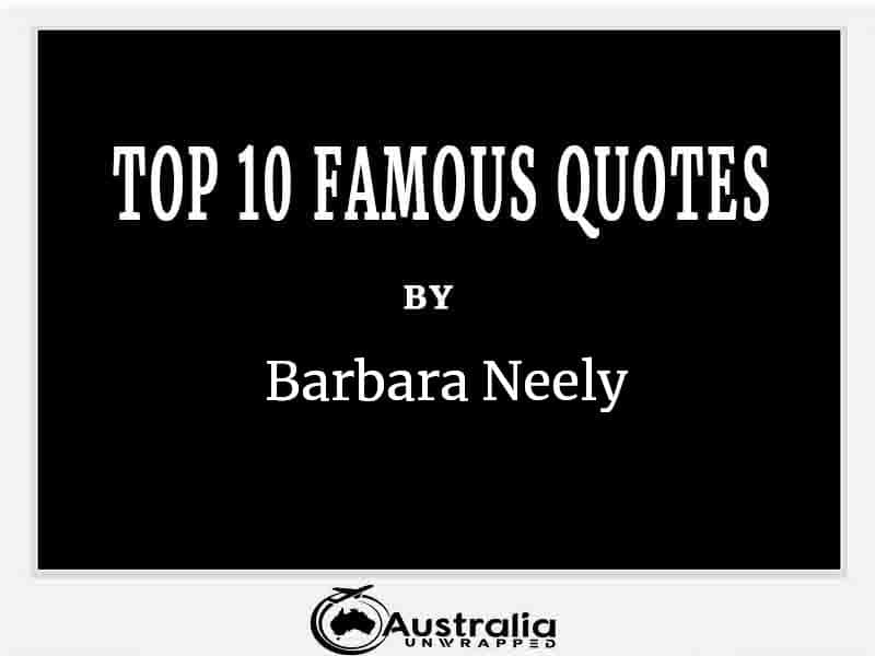 Top 10 Famous Quotes by Author Barbara Neely