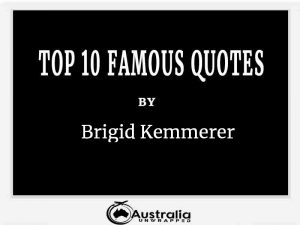Brigid Kemmerer's Top 10 Popular and Famous Quotes
