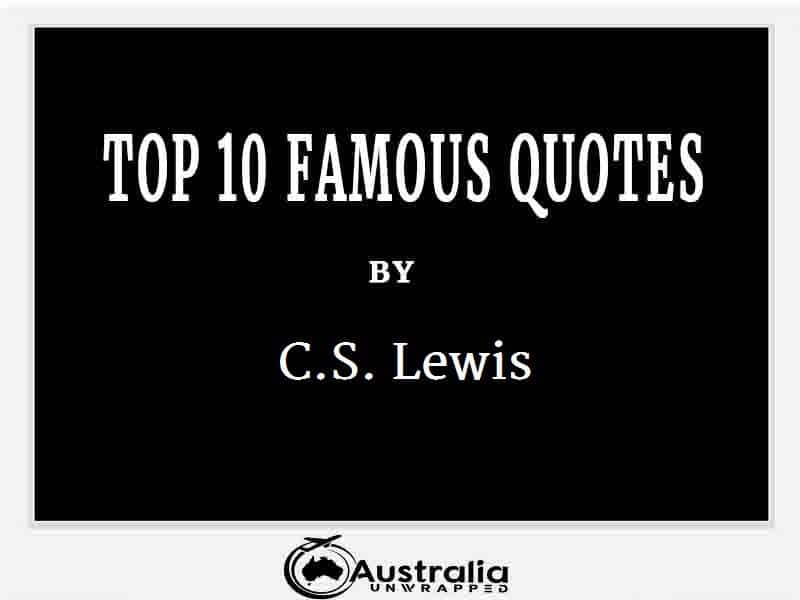 C.S. Lewis's Top 10 Popular and Famous Quotes