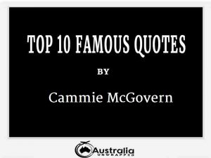 Cammie McGovern's Top 10 Popular and Famous Quotes