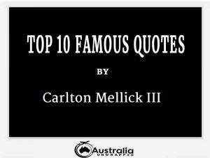 Carlton Mellick III's Top 10 Popular and Famous Quotes