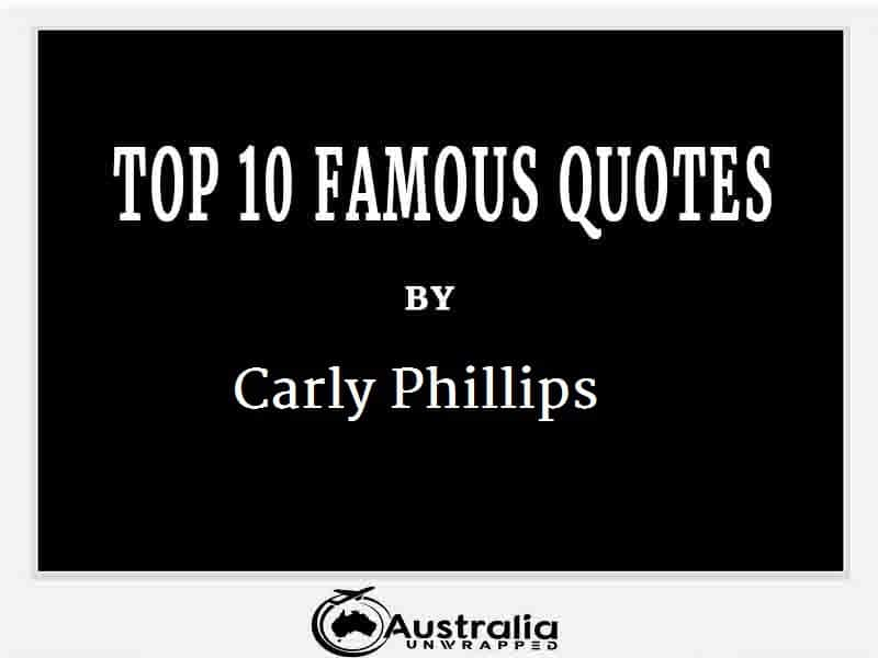 Carly Phillips's Top 10 Popular and Famous Quotes