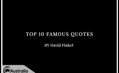 Top 10 Famous Quotes by Author David Finkel