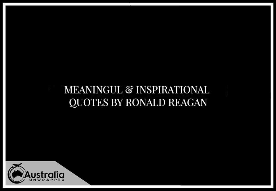 Ronald Reagan's Most Inspirational Quotes