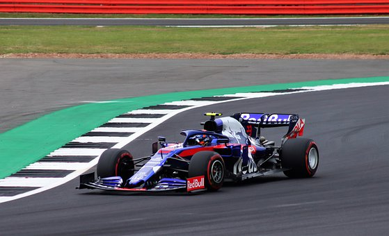 Toro Rosso in the Grand Prix 2020.