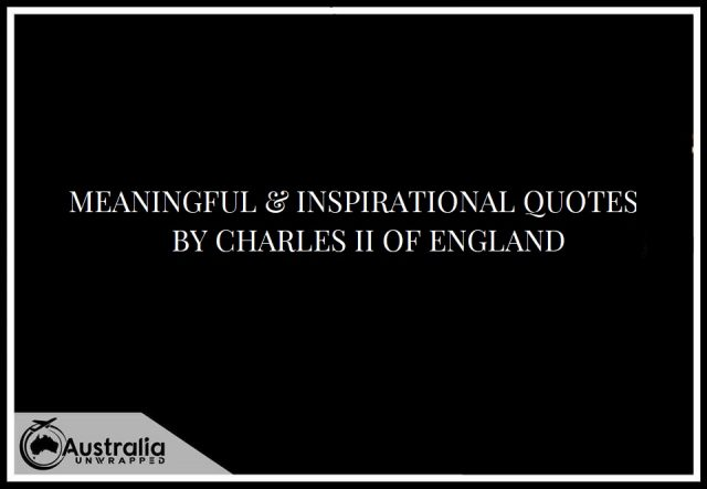 Meaningful & Inspirational Quotes by Charles II of England