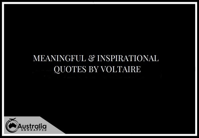Meaningful & Inspirational Quotes by Voltaire