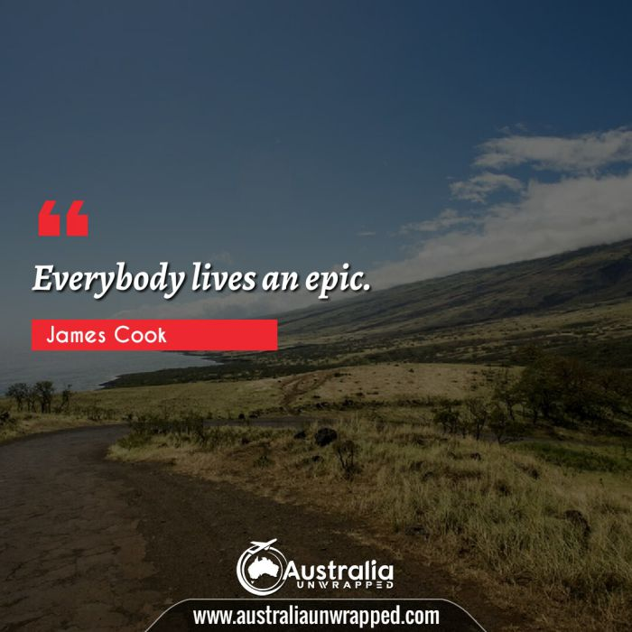 Everybody lives an epic.