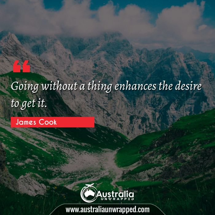 Going without a thing enhances the desire to get it.
