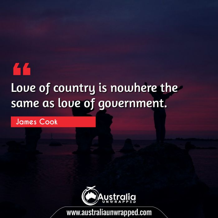 Love of country is nowhere the same as love of government.