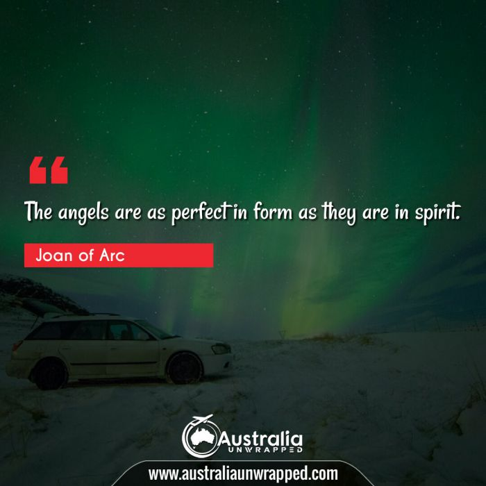 The angels are as perfect in form as they are in spirit.
