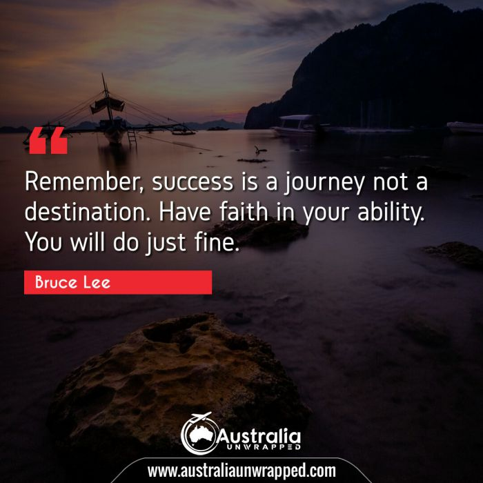 Remember, success is a journey not a destination. Have faith in your ability. You will do just fine.