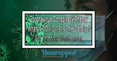 Coronavirus Conspiracy Theory What If COVID 19 Is The Catalyst for The New World Order
