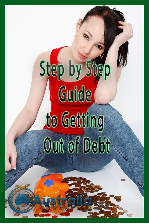 Step by Step Guide to Getting Out of Debt