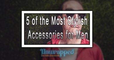 5 of the Most Stylish Accessories for Men