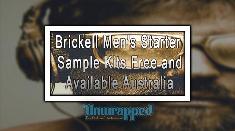 Brickell Men's Starter Sample Kits Free and Available Australia