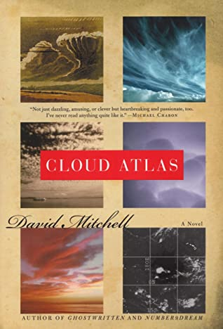 """The third book by David Mitchell, """"Cloud Atlas,"""""""