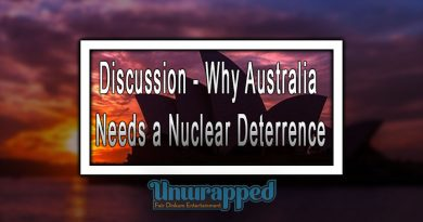 Discussion - Why Australia needs a Nuclear Deterrence