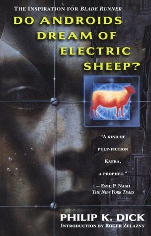"Award-winning novel ""Do Androids Dream of Electric Sheep"""