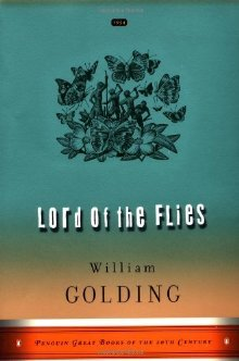 """William Golding's post-apocalyptic novel """"Lord of the Flies"""""""