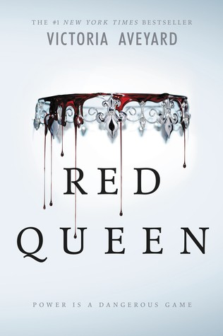 Red Queen - Victoria Aveyard's first novel