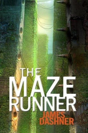 "James Dashner's dystopian fiction novel, ""The Maze Runner,"""