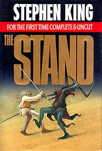 "One of the best dystopian books, ""The Stand,"""