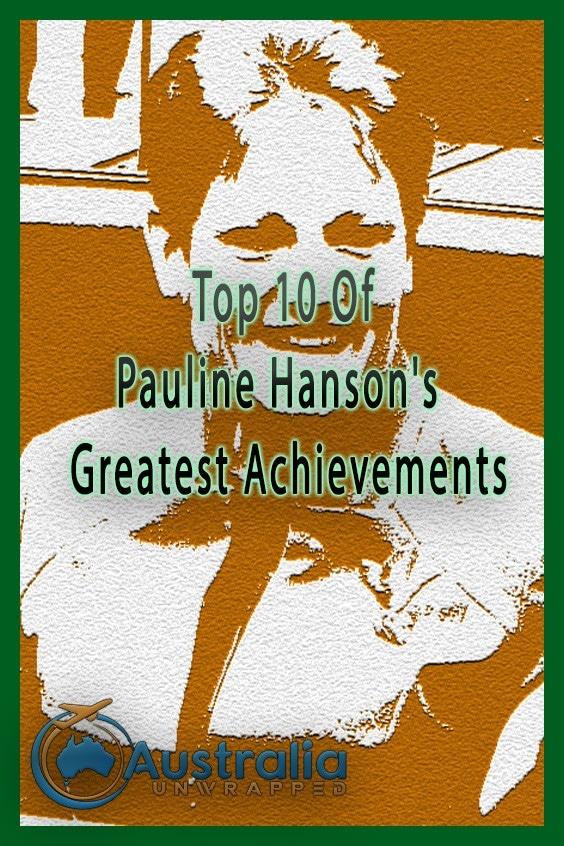 Top 10 Of Pauline Hanson's Greatest Achievements