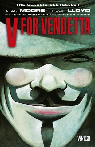 V for Vendetta - high-rating dystopian novel