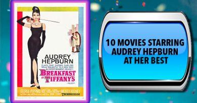10 Movies Starring Audrey Hepburn at Her Best