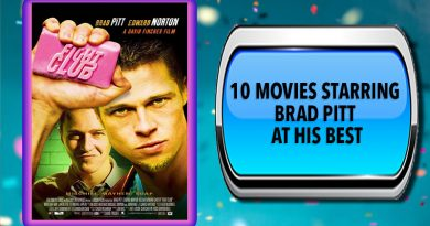 10 Movies Starring Brad Pitt at His Best