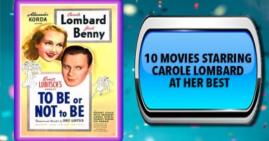 10 Movies Starring Carole Lombard at Her Best