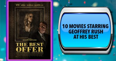 10 Movies Starring Geoffrey Rush at His Best