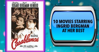 10 Movies Starring Ingrid Bergman at Her Best
