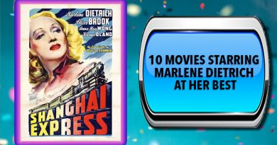 10 Movies Starring Marlene Dietrich at Her Best