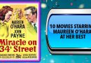10 Movies Starring Maureen O'Hara at Her Best